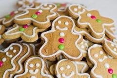 Free Gingerbread Men Stock Photo - 28190200