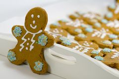Gingerbread Men Stock Images
