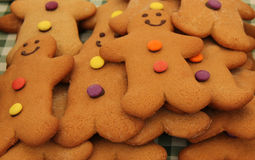Gingerbread Men Biscuits. Stock Image
