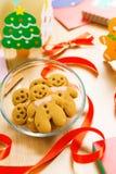Gingerbread men Stock Photography