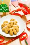 Gingerbread men Royalty Free Stock Image
