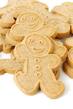 Gingerbread men close up Stock Photo
