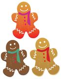 Gingerbread Men Cookies Royalty Free Stock Photos
