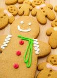 Gingerbread men Stock Images