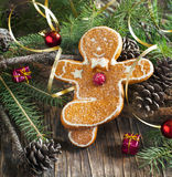 Gingerbread Men Decoration Stock Photography