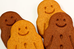 Gingerbread men Stock Photography