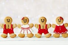 Gingerbread men Stock Photos