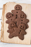 Gingerbread men Royalty Free Stock Photography