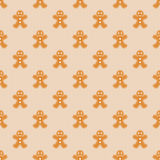 Gingerbread Men Wallpaper Royalty Free Stock Photo