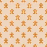 Gingerbread Men Wallpaper Royalty Free Stock Photo