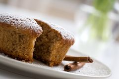 Gingerbread muffin Stock Photos