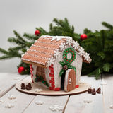 Gingerbread New Year and Christmas royalty free stock photography