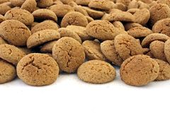 Gingerbread nuts. A delicacy from Holland around 5th of december, the day of santa claus Stock Photography