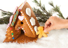 Gingerbread party Royalty Free Stock Photos