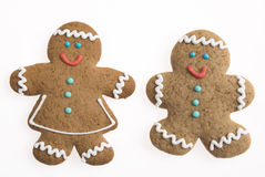 Gingerbread people Royalty Free Stock Image