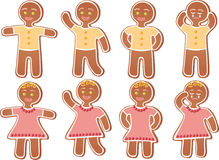 Gingerbread person Royalty Free Stock Photo