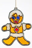 Gingerbread person christmas ornament Stock Image