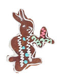 Gingerbread rabbit Royalty Free Stock Image