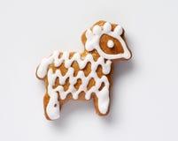 Gingerbread ram lamb Royalty Free Stock Image