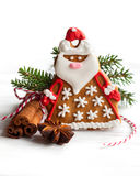 Gingerbread Santa Claus stock photo