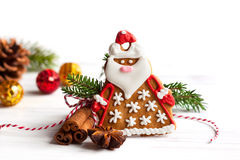 Gingerbread Santa Claus Royalty Free Stock Photo