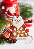 Gingerbread Santa Claus Royalty Free Stock Image