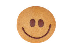 Gingerbread smiley Royalty Free Stock Photography