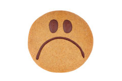 Gingerbread smiley Royalty Free Stock Photos