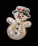 Gingerbread snowman Royalty Free Stock Photo