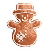 Gingerbread snowman Royalty Free Stock Image