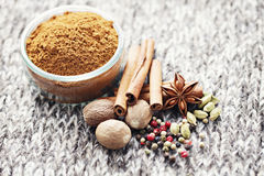 Gingerbread spices Royalty Free Stock Photography