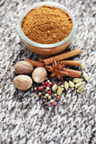 Gingerbread spices Stock Photos