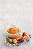 Gingerbread spices Royalty Free Stock Images