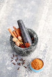 Gingerbread spices Stock Image