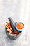 Gingerbread spices Royalty Free Stock Image