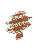 Gingerbread spruse Royalty Free Stock Images