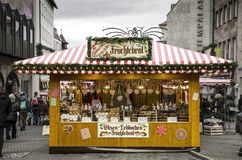 Gingerbread stand in Nuremberg Stock Photos