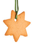 Gingerbread star Stock Photo