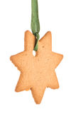 Gingerbread star Royalty Free Stock Photography