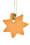 Gingerbread star Stock Photography