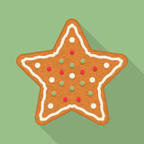 Gingerbread Star Royalty Free Stock Image