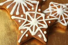 Gingerbread stars Royalty Free Stock Photo