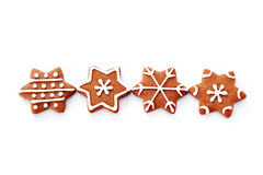 Gingerbread stars Royalty Free Stock Photos