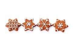 Gingerbread stars Royalty Free Stock Photos