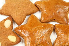 Gingerbread stars Stock Photography