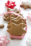 Gingerbread stars Stock Images