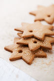 Gingerbread Stars Royalty Free Stock Images