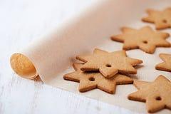 Gingerbread Stars Stock Photos