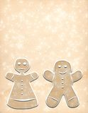 Gingerbread Stationary! stock illustration