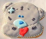 Gingerbread Teddy Bear Stock Image